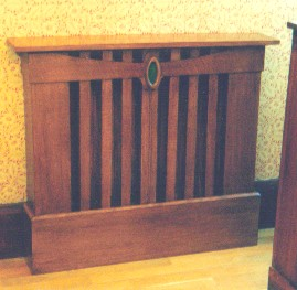 photograph of Samsons Joinery radiator cover/cabinet